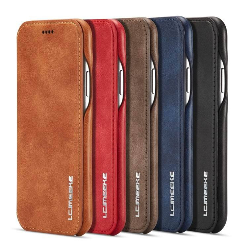 Leather Wallet Flip <font><b>Case</b></font> For <font><b>Samsung</b></font> <font><b>Galaxy</b></font> A20E A20 A30 <font><b>A40</b></font> A50 A70 S7 Edge S8 S9 S10 5G S10E Plus Note 8 Note 9 Note 10 Pro image