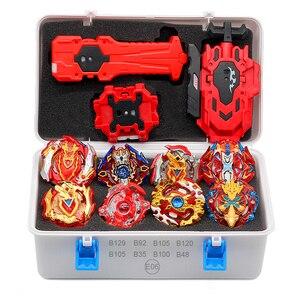 TAKARA TOMY, lanzador de Arena, Beyblade Burst Beyblades, Cables Bey Blade box, Bayblades para niños, fusión de metales, nuevos juguetes para regalo de cumpleaños