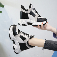 2020 Brand Chunky Sneakers Wedges Shoes For Women Platform F