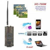 Hunting Camera 2G GSM MMS SMS Trail Camera 0.5s Trigger Time 16MP IR Infrared Video Night Vision Wildlife Surveillance HC 700M