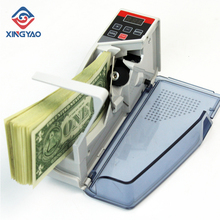 V40 Mini Portable Handy Currency Counter Machine Money Cash Counting Machine Banknote Counting