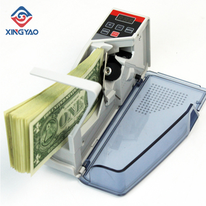 V40 Mini Portable Handy Currency Counter Machine Money Cash Counting Machine Banknote Counting,