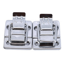 Хромированная защелка из нержавеющей стали для ящика груди чемоданов