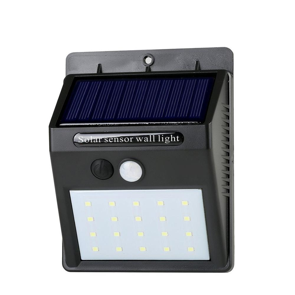 LEDs Motion Sensor Solar Light Outdoor Garden Decoration Fence Stair Pathway Yard Sunlight Security Solar LED Wall Lamp