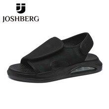 JOSHBERG Designer Fashion Platform Minimalist Design Sandals Beach Beach Sandals Simple Mens