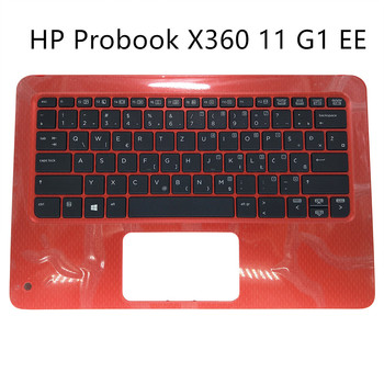 laptop keyboard for HP Probook X360 11 G1 EE UI UK English GB WB Bosnian Croatian black kb red Palmrest 6070B1118401 951774 gordon elizabeth english download [b1 ] wb