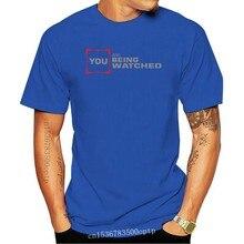Camiseta con estampado de La Maxpa para hombre, camiseta informal divertida de personas de interés que se ven, camiseta de Fitness de verano, camiseta Normal grande