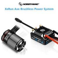 Hobbywing XeRun AXE R2 Combo impermeabile 540L sensore Brushless ESC Motor per 1/10 RC Car Crawler Traxxas TRX4 Axial SCX10 90046