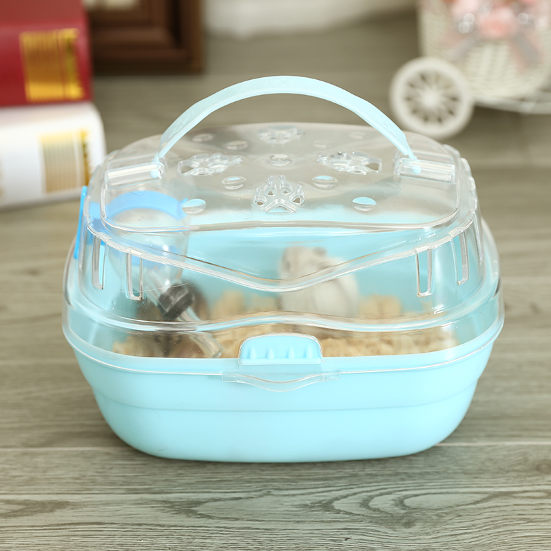 Hamster Cage Transparent Travel Cage Pet Out Cage Accessory Supplies Portable Hamster Cage Go Out To Carry Guinea Pig Cage