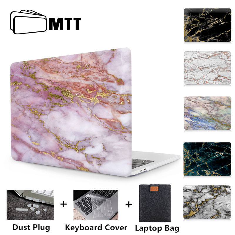 Marble Laptop Hard Case Cover For Macbook Air Pro Retina 11 12 13 15 Touch Bar