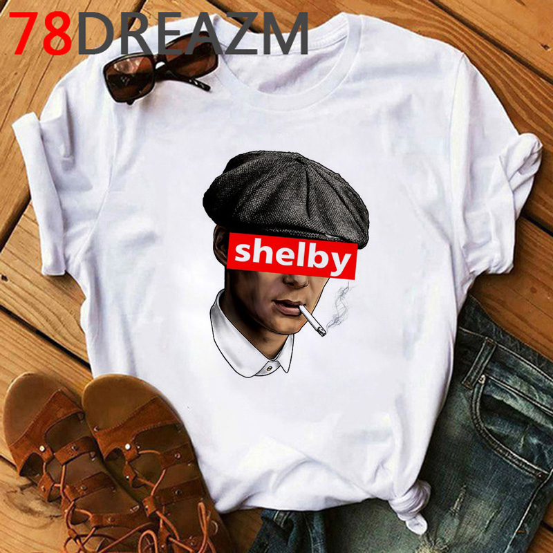 Peaky Blinders T Shirt Men  Harajuku  Hip Hop T Shirt 2020 Cartoon Cool Streetwear Unisex 90s Fashion Graphic Top Tees Male