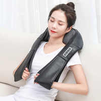 Electrical Shiatsu Heat Deep Kneading Infrared Massager Back Neck Shoulder Body Massager Health Care Relaxation