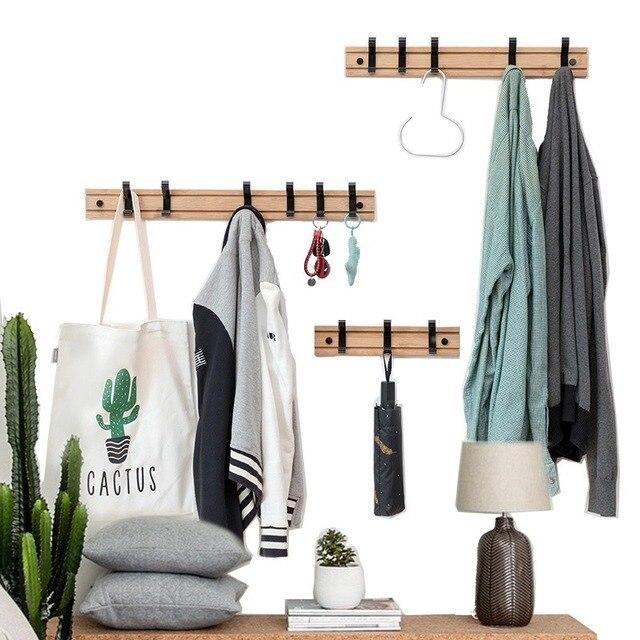 Фото скандинавская вешалка для пальто настенная домашний декор настенный цена