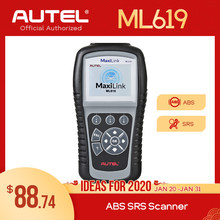 AUTEL MaxiLink ML619 ML629 OBD2 Scanner Auto Code Reader Motor Übertragung ABS SRS Airbag Diagnose Tool Scaner PK CRP123(China)