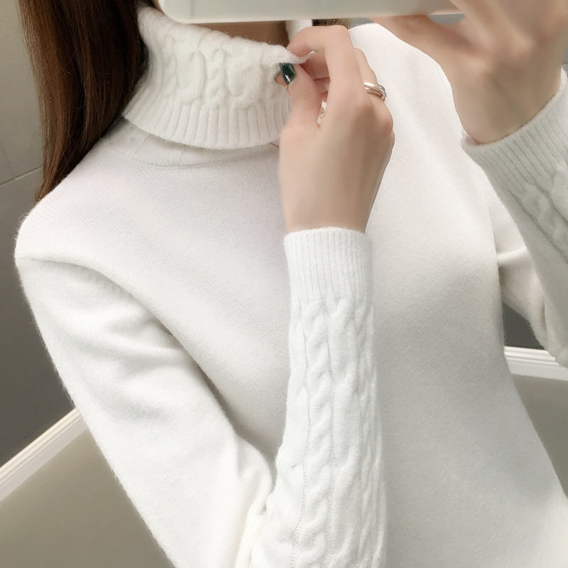 Turtleneck Pullovers Thick Sweater