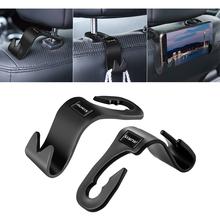 2 sztuk samochodów seat ozdobny hak wielofunkcyjny uniwersalny przechowywania gruzu hak dla Toyota auris 2009-2019 akcesoria samochodowe tanie tanio CN (pochodzenie) Organize storage 3 5cm for auris