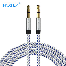RAXFLY AUX Cable For Car Audio Cable 3.5 mm Jack 3.5 Male to Male Audio AUX Cable For Headphone MP3/4 Speaker Jack AUX Wire Cord