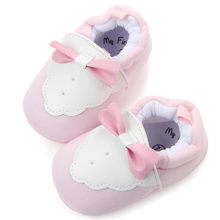 Baby Girls Boys newborn Shoes Comfortable Butterfly-knot Fashion First Walkers Casual soft Kid Shoes Sapato Infantil kids shoes(China)