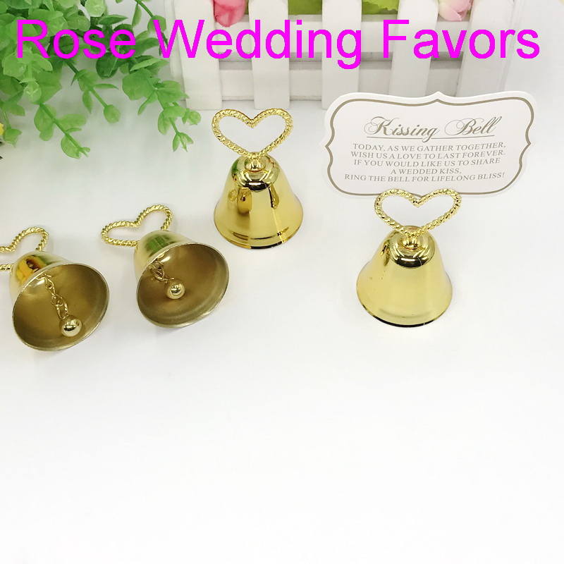 Image 5 - (50pcs/lot)FREE SHIPPING Christmas Party Favor Kissing Bell Place