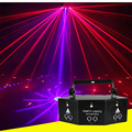 New nine eye laser pattern strobe light dj disco Christmas ball show professional strobe light projector lighting effect