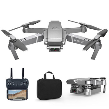 New E68 Folding RC Drone with 1080P 4K HD Camera FPV Drones Wifi Mobile Phone Control Outdoor Sports Video Shooting