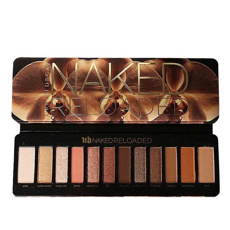 Palette naked12 décroissance urbaine naked2 cerise fard à paupières maquiagem palette maquillage yeux maquillage ultime bases rechargé 12 couleurs