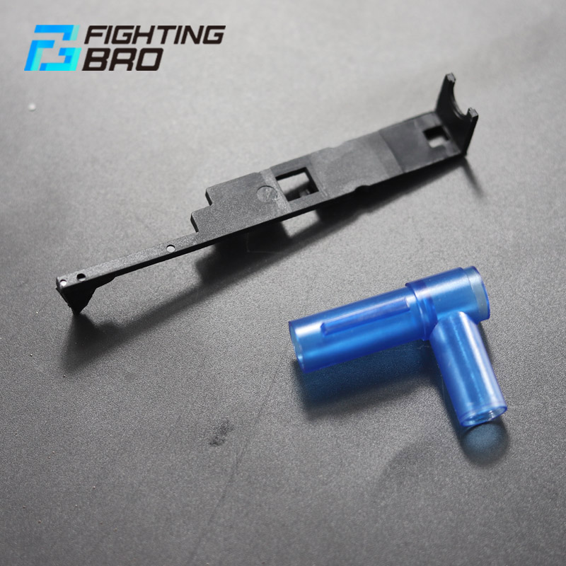 FightingBro 4.0/3.0 T-head Hop Up Chamber Gearbox Plastic V2 M4 Gel Blaster Airsoft Paintball Accessories