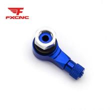 5PCS Blue Red Aluminum Tire Wheel Air Valve Stem Caps Cover For Car Truck Bike MTB tire Valve Wheel Stem Cap tire valve caps стоимость