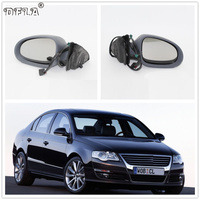 For VW Passat B6 2006 2007 2008 2009 2010 2011 Car styling Heated Electric Wing Side Rear Mirror Left And Right
