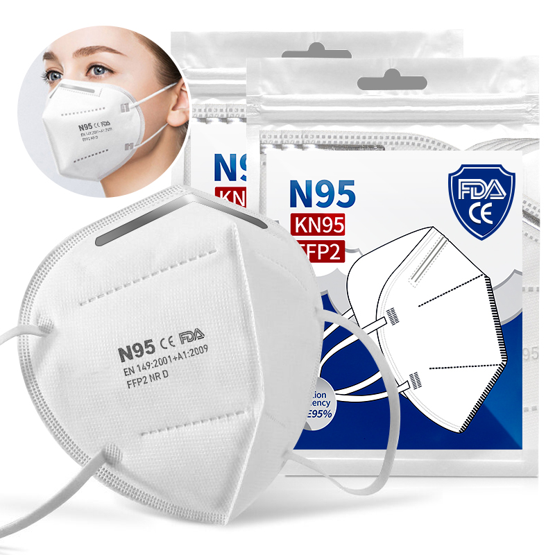 5~400 Pcs Face Masks Dust Respirator Mouth Masks Adaptable Against Pollution Breathable 99% Mask Filter