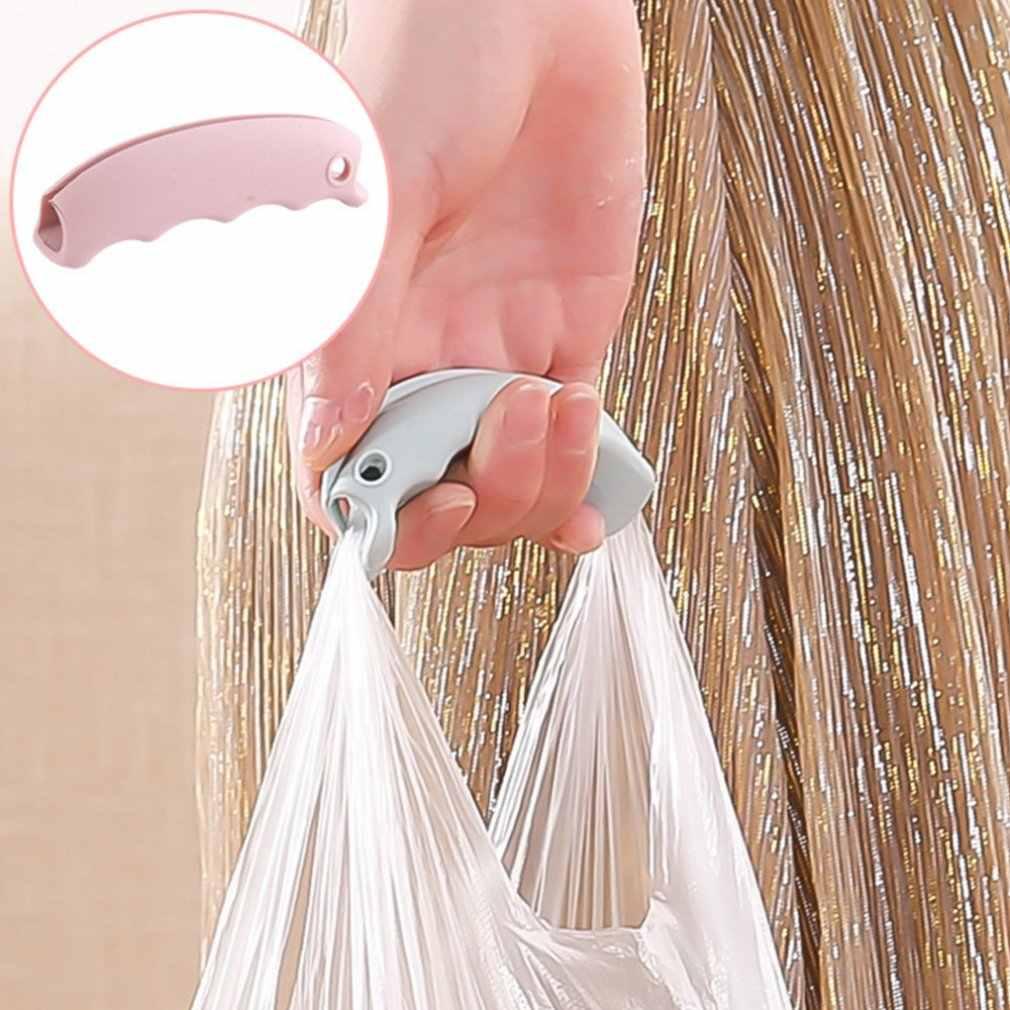 실리콘 가방 그립 한 여행 그립 쇼핑 식료품 가방 주방 도구 선물 바구니 홀더 핸들 캐리어 노동 절약 도구