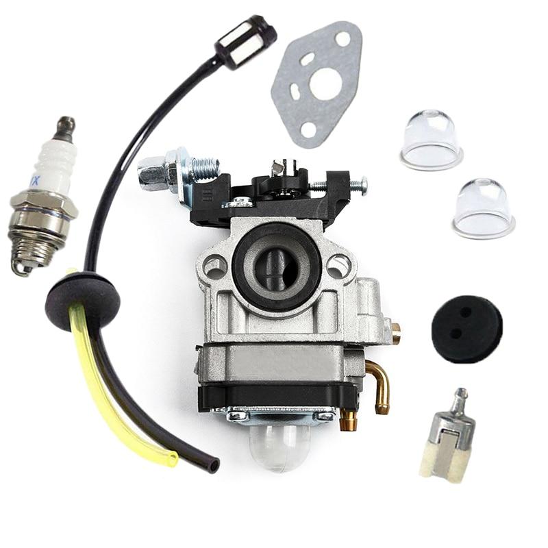 Professional Carburetor For Kawasaki TH23 TH26 TH34 23CC 25CC 26CC 33CC 35CC Spark Plug Kit Replace Highly Matched With Original