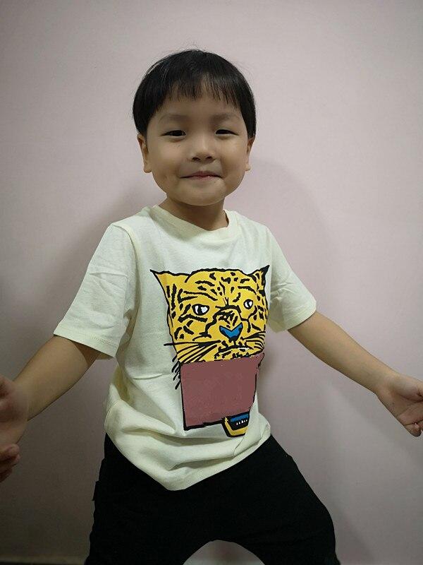 kids new 2020 T-Shirt Children's summer cotton T-shirt