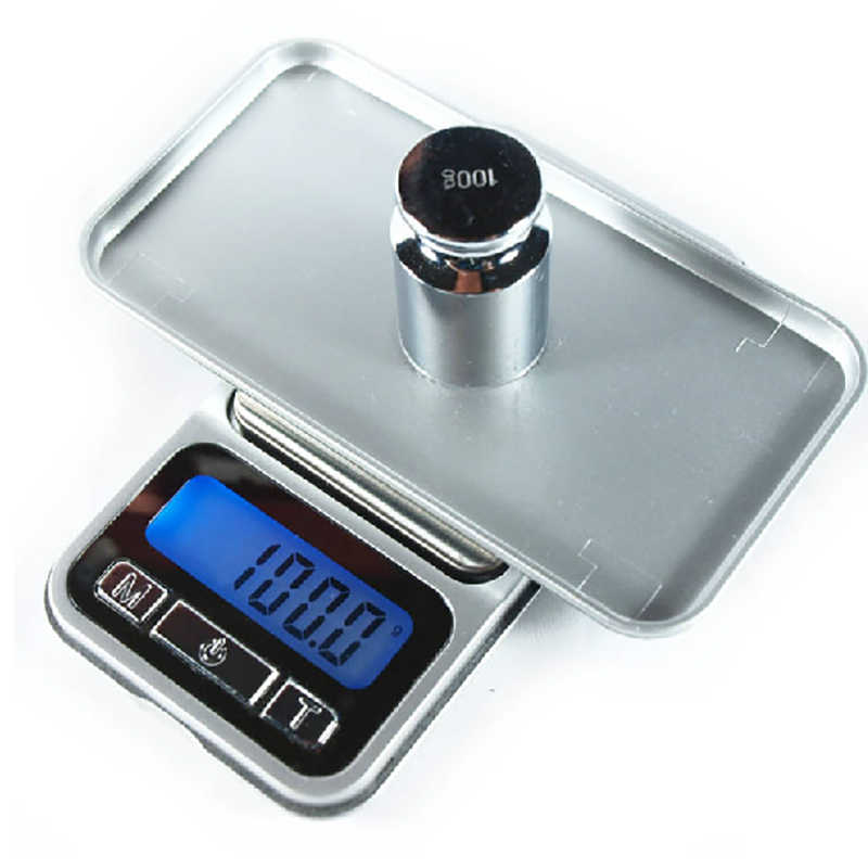 Multifunction Pocket Scale Mini Digital Scale Portable Phone Desine Style Stainless Weighing Platform Backlight Jewelry Scale
