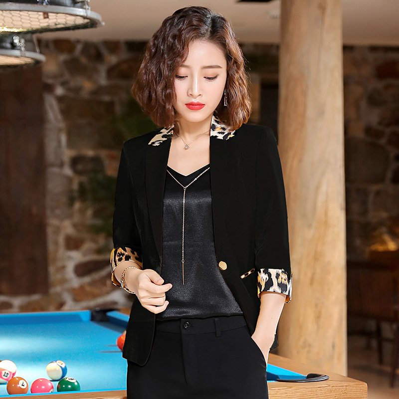 British Style Ladies Slim Short Sleeve Blazers Black White Pink Yellow Plus Size Blazer Femme Spring Summer Woman Jackets Coats