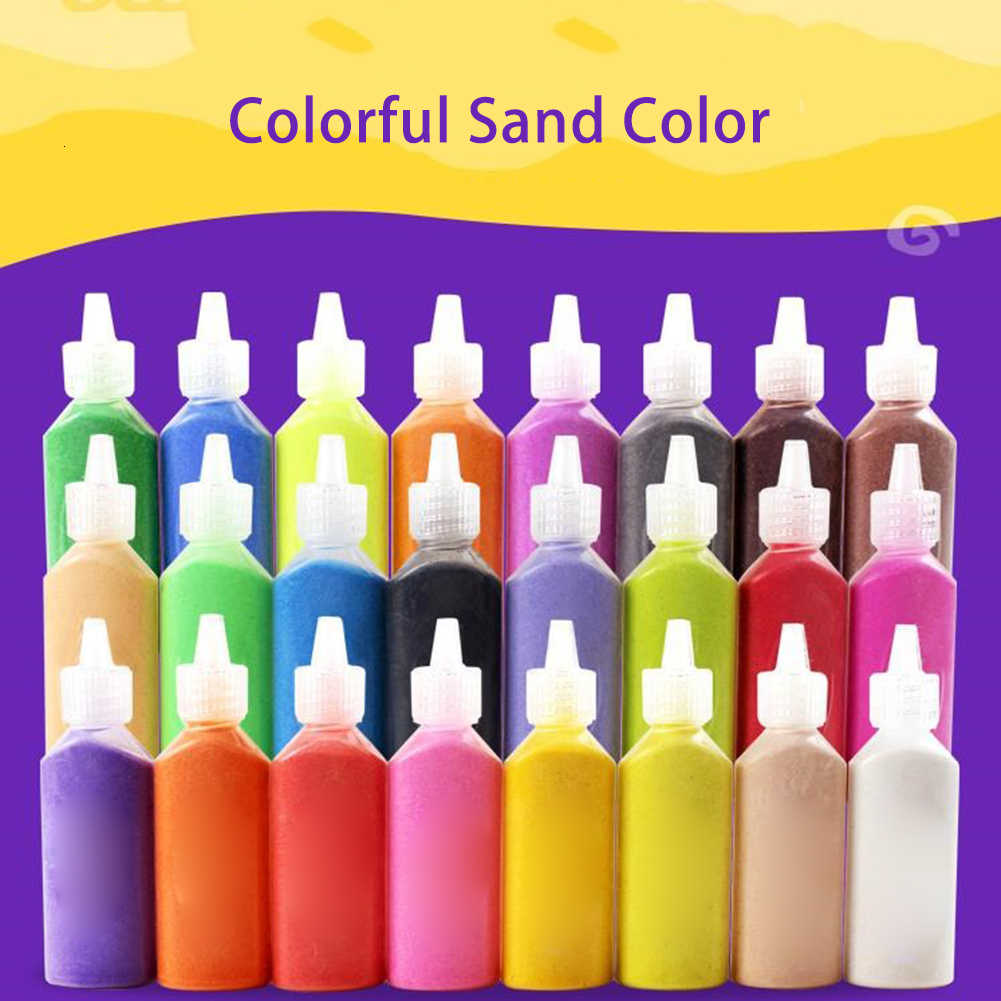 Panxxsen 12 PCS Art Sand,DIY Arts and Crafts Kit,Scenic Sand for KidsArts /& Crafts,Terrarium Sand Play DIY Drawing Sandbox Wedding Sand for Decorations and Crafty Collection Sand Bottles 12 Colors