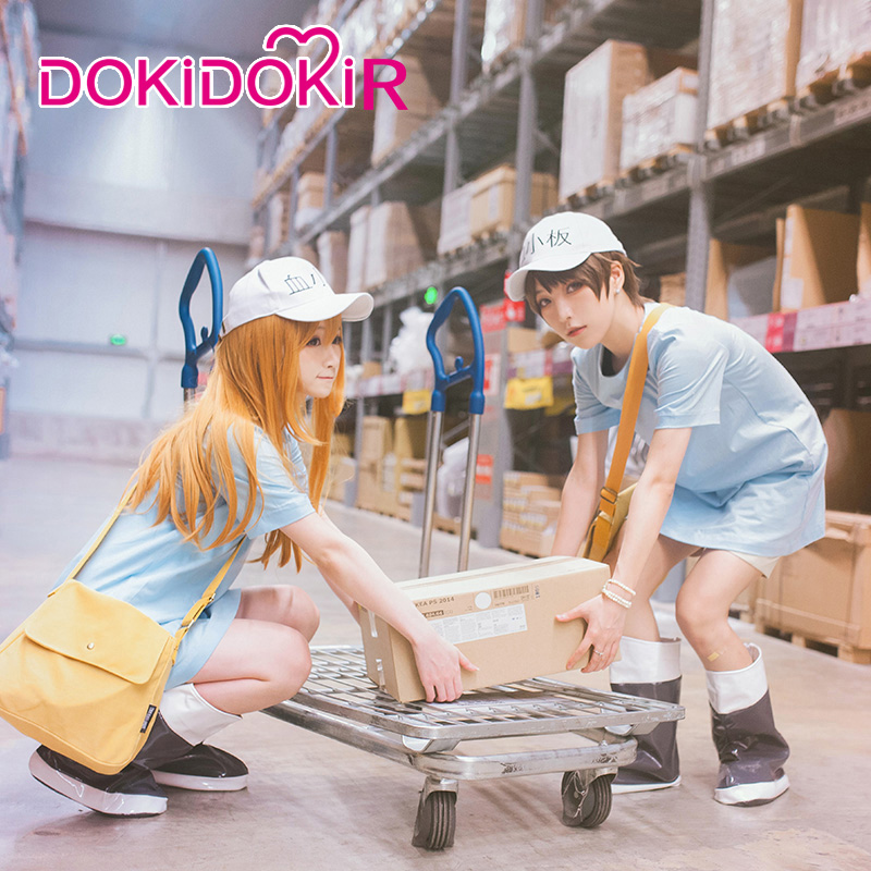 DokiDoki-R Anime Cosplay Cells At Work / Hataraku Saibo Platelet Cosplay Accessory