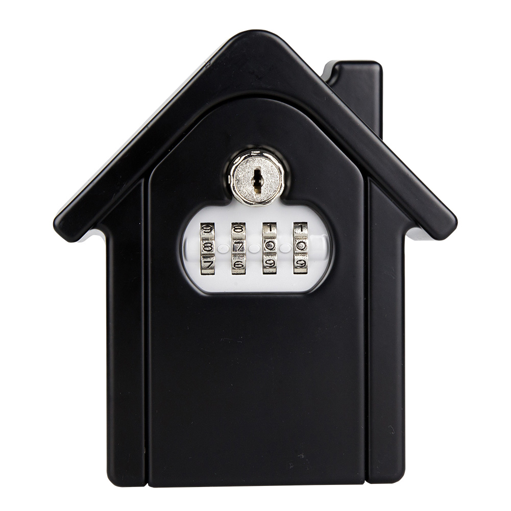 Key Lock Box With Waterproof Case Wall Mount Metal Password Box For Home Business  JFlyer