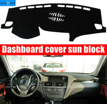 цена на For BMW X3 2013 2014 2015 2016 Right and Left Hand Drive Car Dashboard Covers Mat Shade Cushion Pad Carpets Accessories