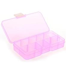 Коробка пиллбокс 10 съемных чехлов для ювелирных изделий Поддельные Гвозди таблетки медицинские