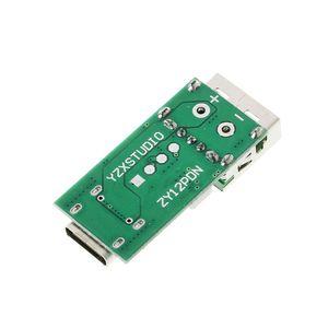 Image 3 - كاشف شرك الشحن السريع من النوع C يعمل بمنفذ USB كاشف استطلاعات زناد PD 5A 9 فولت/12 فولت/15 فولت/20 فولت إختبار أتوماتيكي 95AD