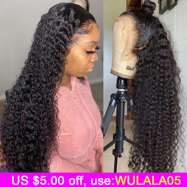 Short Curly Lace Front Human Hair  1