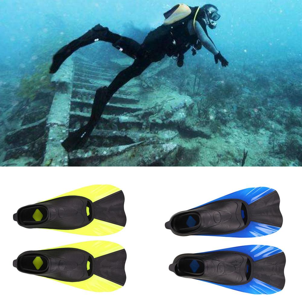 A Pair Swimming Fins Foot Flipper Diving Fins Swimming Equipment XS/S/M/L
