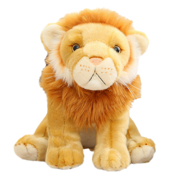 Hot Nice Lifelike Soft Stuffed Animals Lion Doll Simulation King Of The Steppe Lion Plush Toys Cute kids Gifts For Boy Children new simulation lion toy handicraft lifelike lion doll with a small lion in the mouth gift about 50x33cm