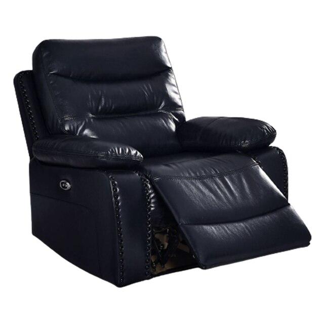 Antique European Creative Leather  Recliner Chair  2