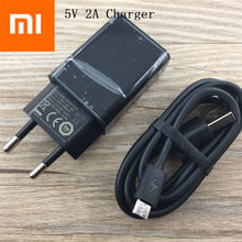 Original XIAOMI Charger for XIAO MI 4 3 2 NOTE4 X MAX redmi pro 1S 2S 3 3S 3X NOTE 3 4 4A 4X 5 5V 2A Adapter + micro USB Cable(China)