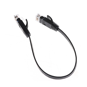 1pc 30cm Cat6 Network Cable Patch Cord RJ45 Slim High-speed Computer Networking Cord(China)