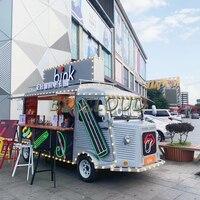 Multifunción eléctrico móvil camión de comida rápida vw bus
