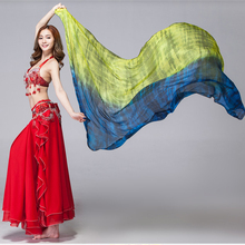 Veils Stock Clearance Belly-Dance Scarf Costumes-Accessories Chinese Women Silk Shawls