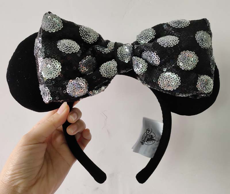 Minnie Mouse Ear Headband - Swap Your Bow (NEW)